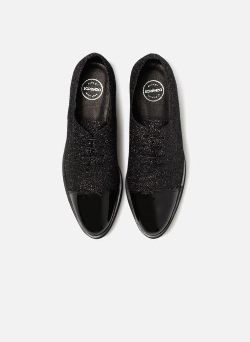 Zapatos con cordones Made by SARENZA 80's Disco Girl Chaussures à Lacets #3 Negro vista del modelo