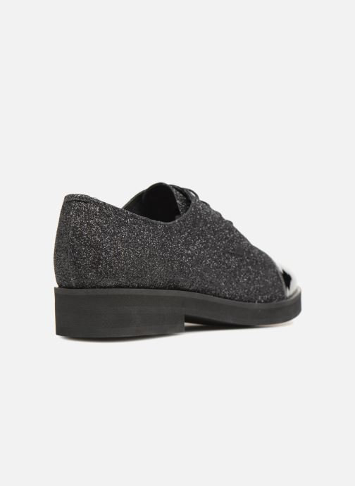 Zapatos con cordones Made by SARENZA 80's Disco Girl Chaussures à Lacets #3 Negro vista de frente