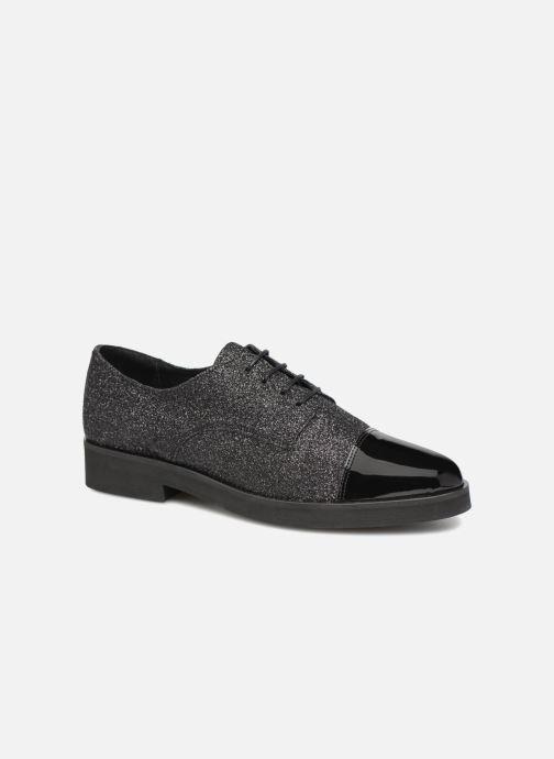 Zapatos con cordones Made by SARENZA 80's Disco Girl Chaussures à Lacets #3 Negro vista lateral derecha