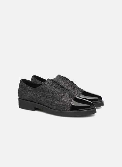 Schnürschuhe Made by SARENZA 80's Disco Girl Chaussures à Lacets #3 schwarz ansicht von hinten
