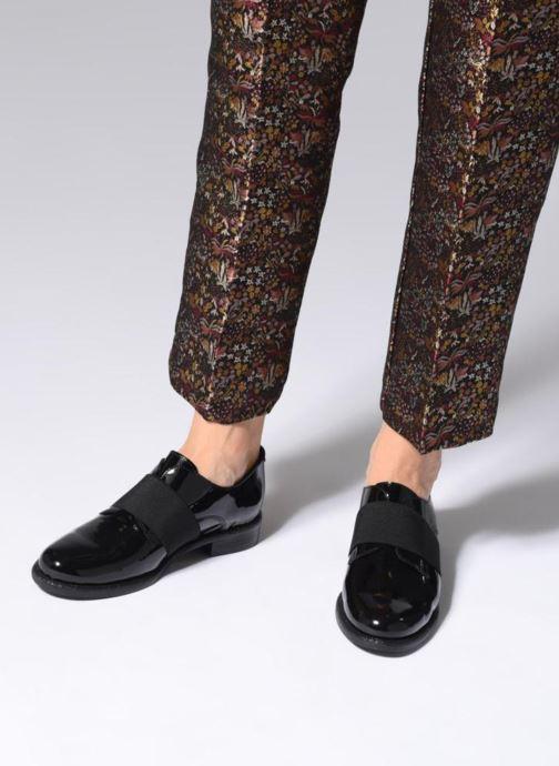Zapatos con cordones Made by SARENZA 80's Disco Girl Chaussures à Lacets #4 Negro vista de abajo