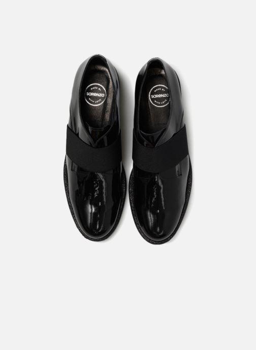 Zapatos con cordones Made by SARENZA 80's Disco Girl Chaussures à Lacets #4 Negro vista del modelo