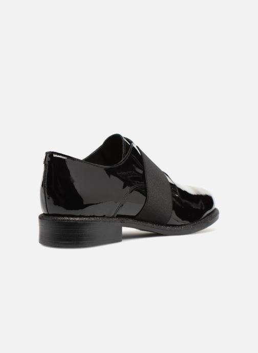 Veterschoenen Made by SARENZA 80's Disco Girl Chaussures à Lacets #4 Zwart voorkant