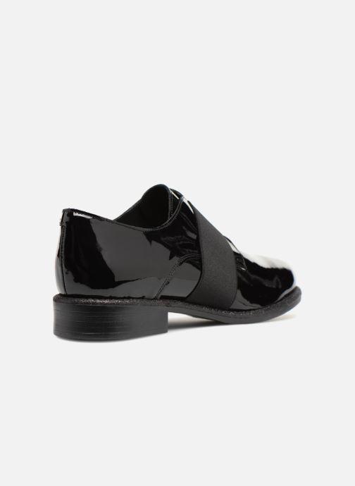 Zapatos con cordones Made by SARENZA 80's Disco Girl Chaussures à Lacets #4 Negro vista de frente