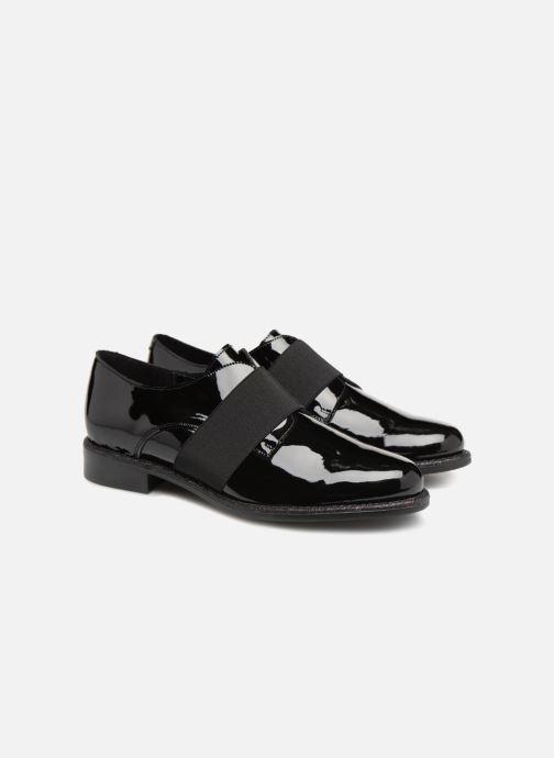 Veterschoenen Made by SARENZA 80's Disco Girl Chaussures à Lacets #4 Zwart achterkant