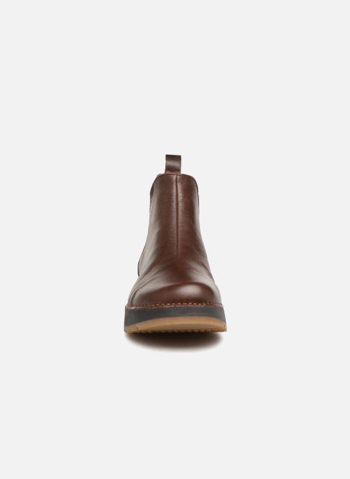Bottines et boots Art Heathrow 1023 Marron vue portées chaussures