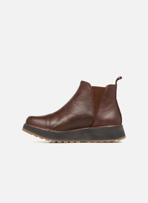 Bottines et boots Art Heathrow 1023 Marron vue face