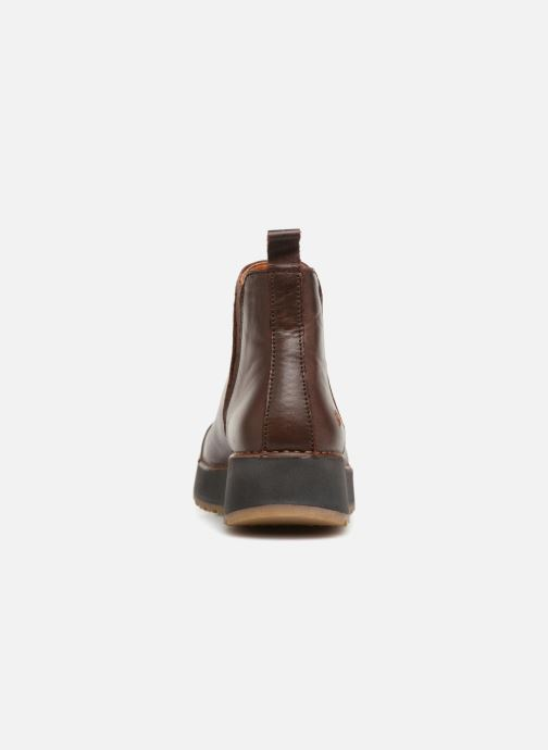 Ankle boots Art Heathrow 1023 Brown view from the right