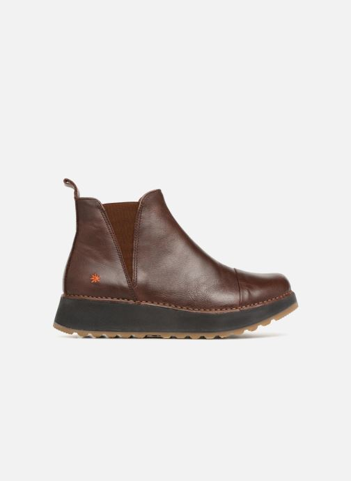 Ankle boots Art Heathrow 1023 Brown back view