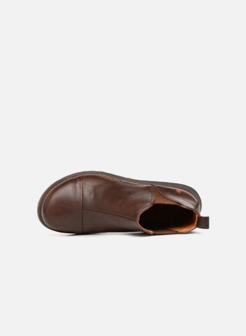 Stiefeletten & Boots Art Heathrow 1023 braun ansicht von links