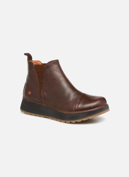 Ankle boots Art Heathrow 1023 Brown detailed view/ Pair view