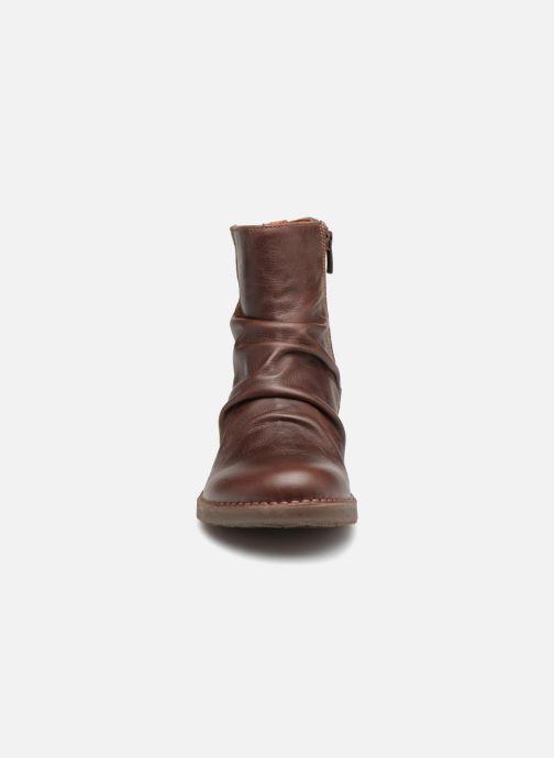 Stiefeletten & Boots Art OTEIZA 2 braun schuhe getragen