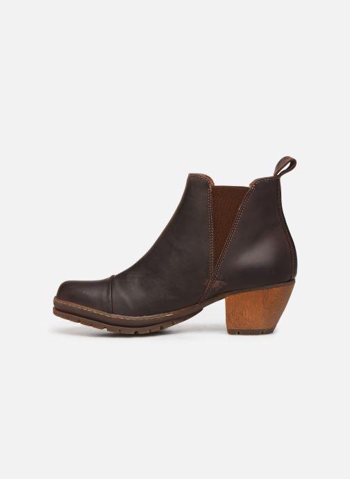 Bottines et boots Art OSLO Marron vue face