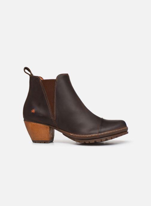 Boots en enkellaarsjes Art OSLO Bruin achterkant
