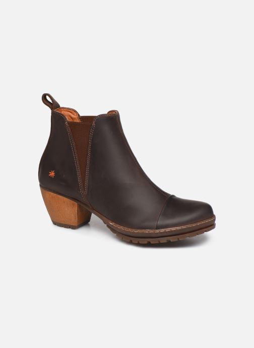 Boots en enkellaarsjes Art OSLO Bruin detail