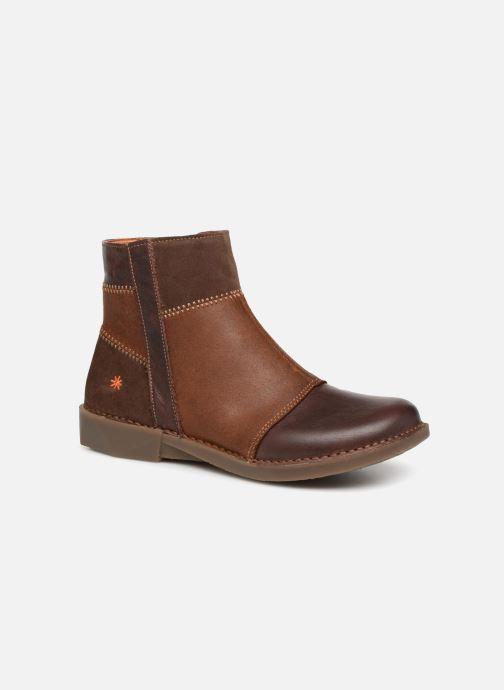 Ankelstøvler Art BERGEN 2 Brun detaljeret billede af skoene