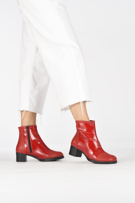 Stiefeletten & Boots Art BRISTOL 2 rot ansicht von unten / tasche getragen