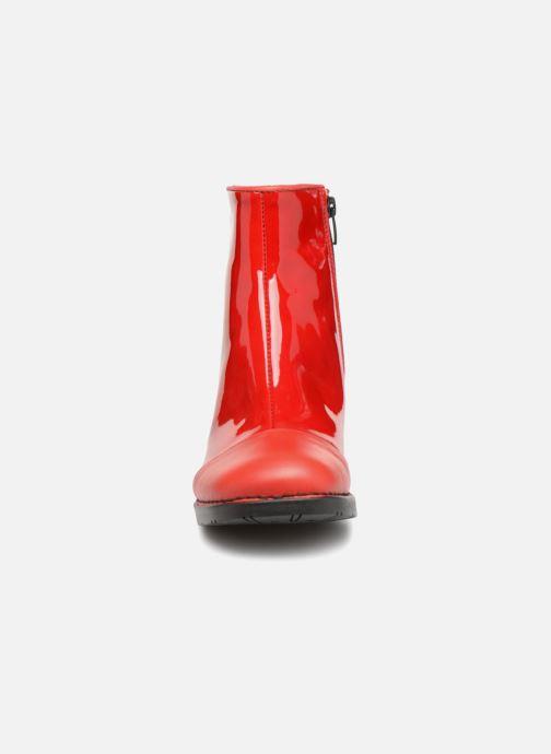 Stiefeletten & Boots Art BRISTOL 2 rot schuhe getragen