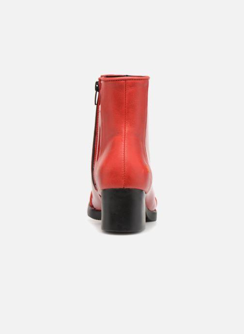 Ankelstøvler Art BRISTOL 2 Rød Se fra højre