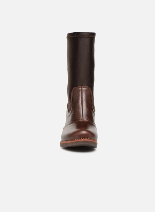 Bottes Art GRAN VIA Marron vue portées chaussures