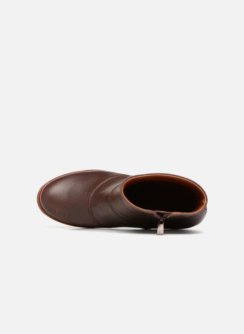 Stiefeletten & Boots Art ST TROPEZ 3 braun ansicht von links