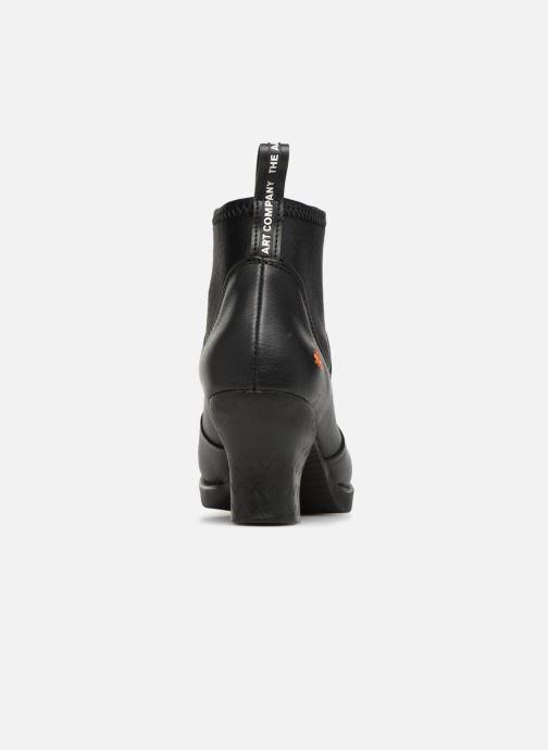 Boots en enkellaarsjes Art HARLEM 4 Zwart rechts
