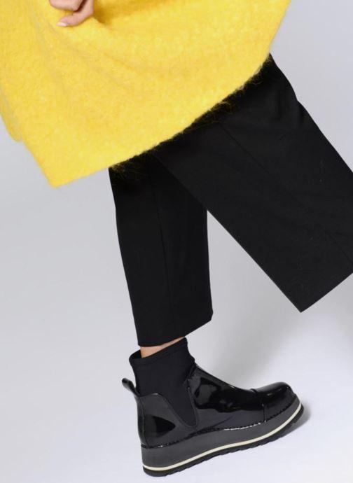 Stiefeletten & Boots Art HEATHROW XL schwarz ansicht von unten / tasche getragen