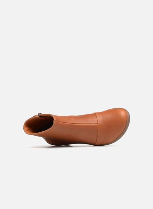 Boots en enkellaarsjes Art ALFAMA 1 Bruin links