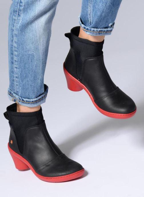 Stiefeletten & Boots Art ALFAMA schwarz ansicht von unten / tasche getragen