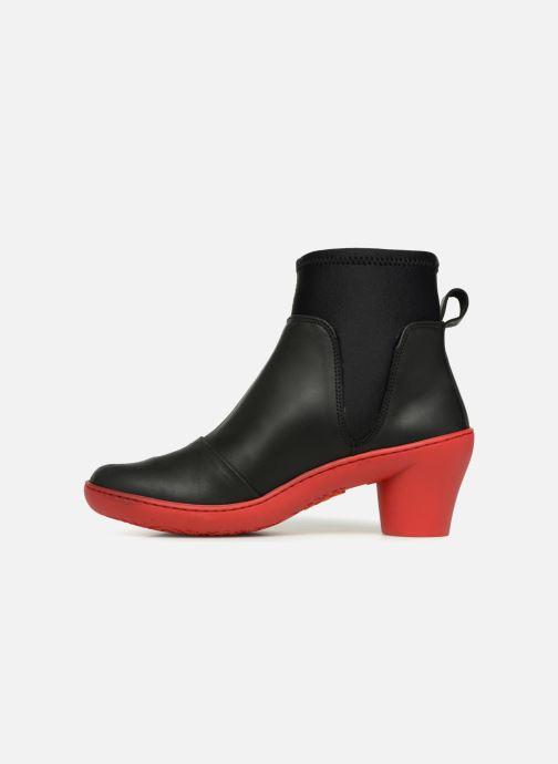 Boots en enkellaarsjes Art ALFAMA Zwart voorkant