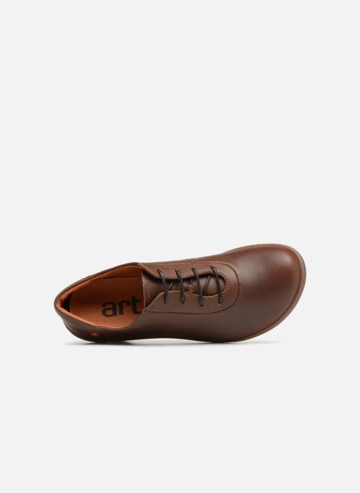 Chaussures à lacets Art ALFAMA 5 Marron vue gauche