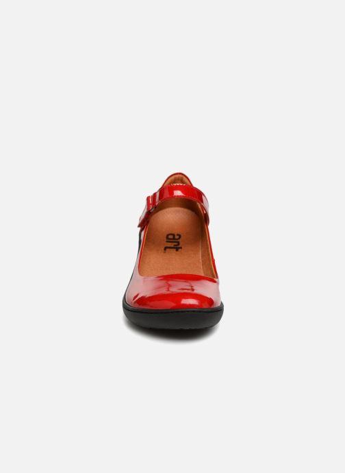 Escarpins Art ALFAMA 6 Rouge vue portées chaussures