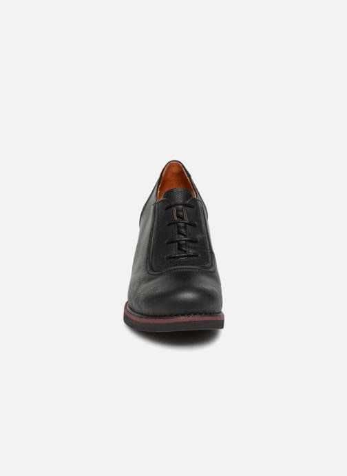 Schnürschuhe Art ST TROPEZ 4 schwarz schuhe getragen