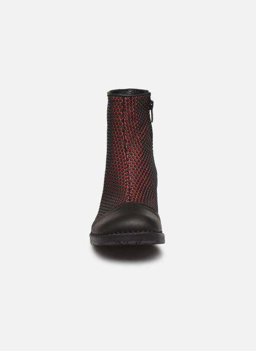 Bottines et boots Art BRISTOL 4 Rouge vue portées chaussures
