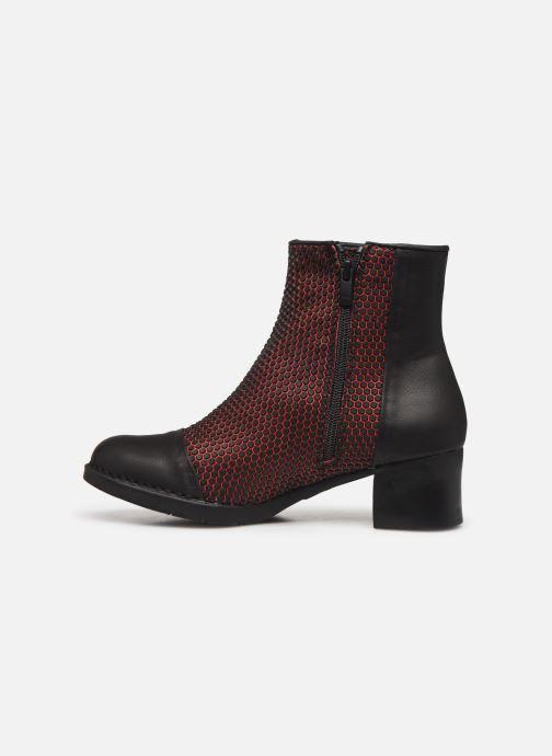 Bottines et boots Art BRISTOL 4 Rouge vue face
