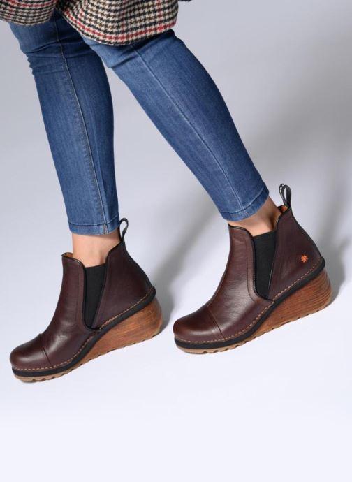 Stiefeletten & Boots Art TAMPERE 1 braun ansicht von unten / tasche getragen