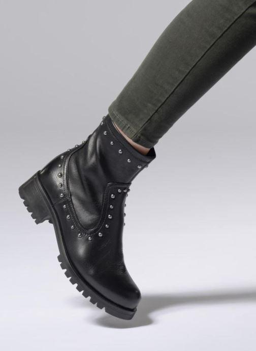 Bottines et boots Unisa ILLESCAS SUA STR Noir vue bas / vue portée sac