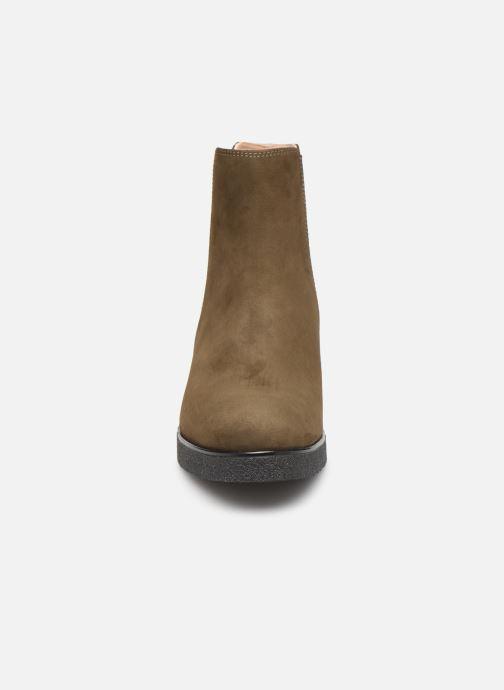 Stiefeletten & Boots Unisa DESTRA braun schuhe getragen