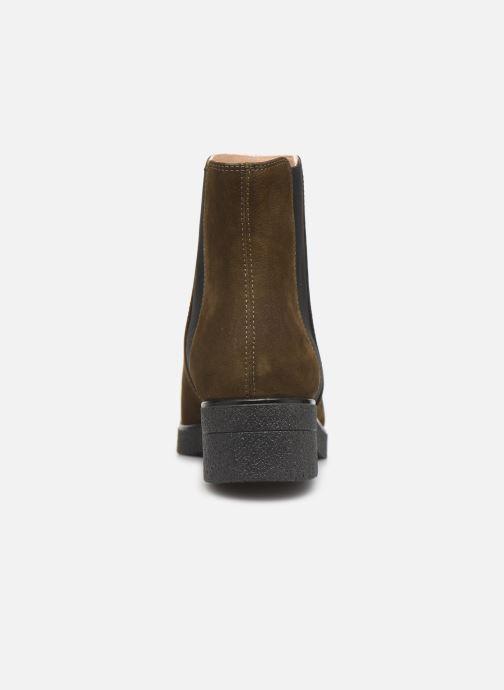 Bottines et boots Unisa DESTRA Marron vue droite