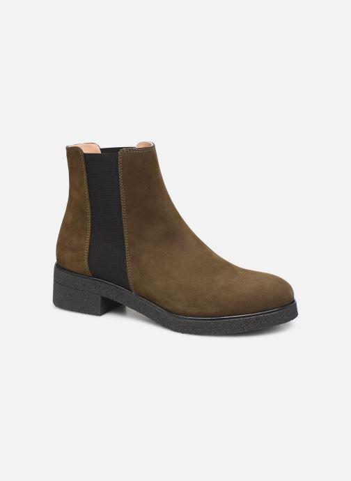 Bottines et boots Unisa DESTRA Marron vue détail/paire