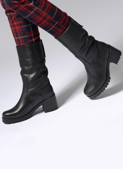 Bottines et boots Unisa GENA STY RF Noir vue bas / vue portée sac