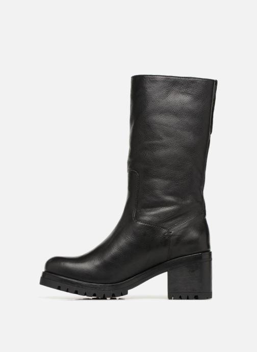 Bottines et boots Unisa GENA STY RF Noir vue face