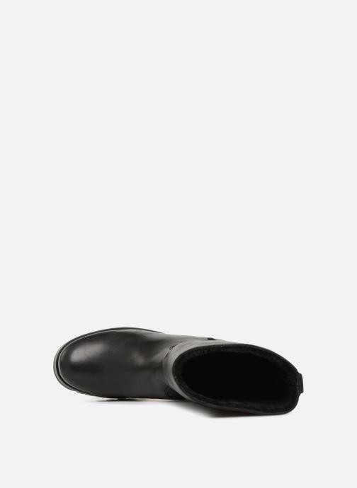 Bottines et boots Unisa GENA STY RF Noir vue gauche