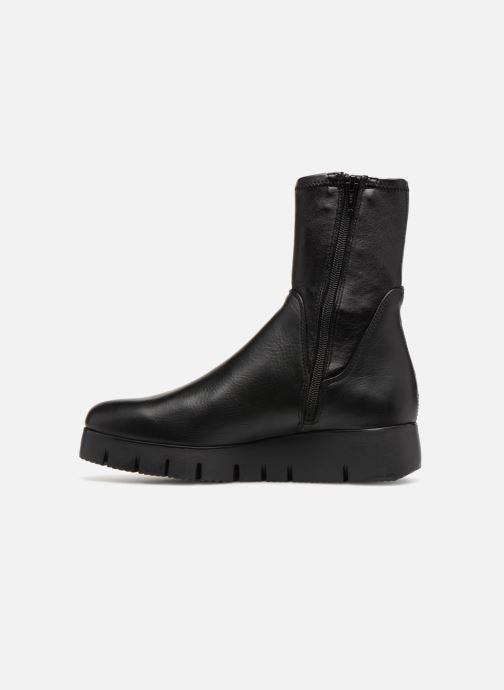 Bottines et boots Unisa FRESNO SUA STL Noir vue face
