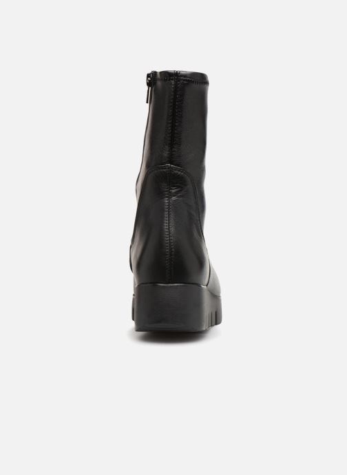 Ankle boots Unisa FRESNO SUA STL Black view from the right