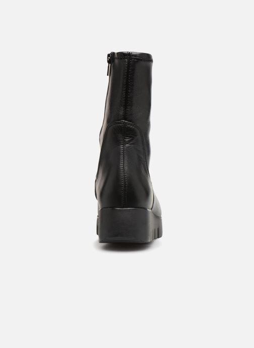 Bottines et boots Unisa FRESNO SUA STL Noir vue droite