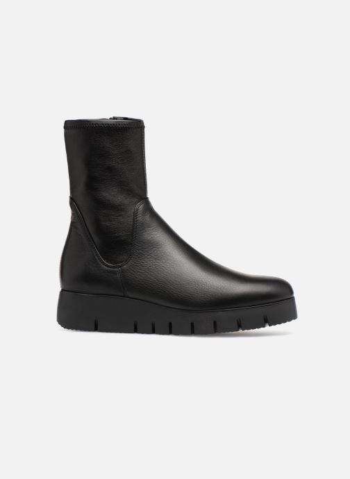 Ankle boots Unisa FRESNO SUA STL Black back view