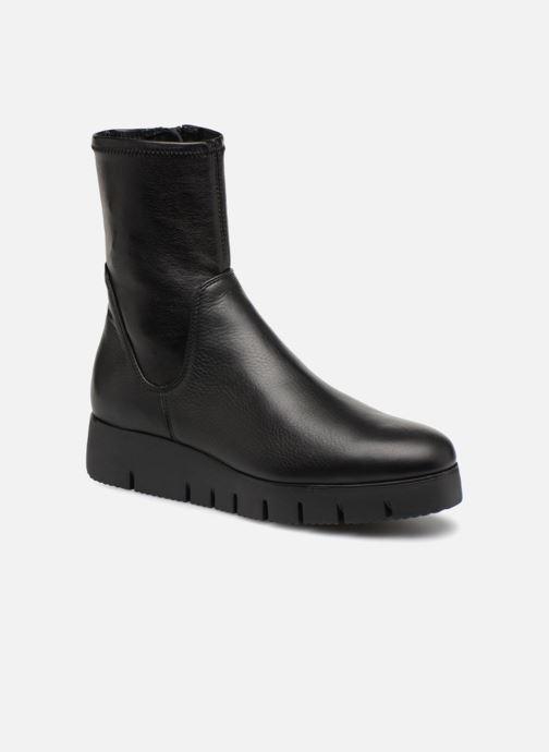 Ankle boots Unisa FRESNO SUA STL Black detailed view/ Pair view