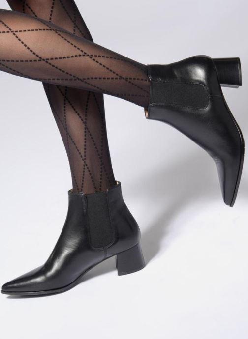 Bottines et boots Unisa JISTE Noir vue bas / vue portée sac