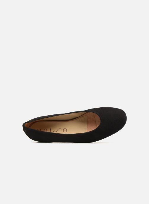 Zapatos de tacón Unisa BECCA KS Negro vista lateral izquierda